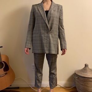 Zara oversized suit